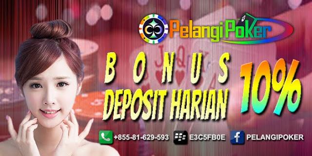 Bonus-Deposit-Harian-10%-Pelangi-Poker
