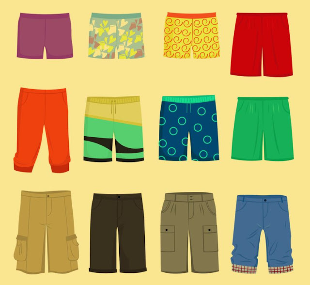 Different types of Shorts