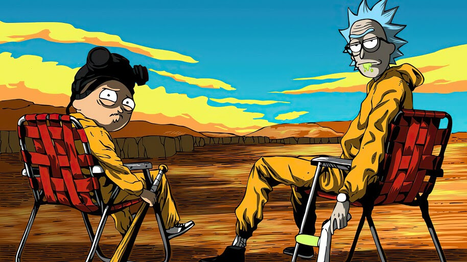 Rick and Morty, Breaking Bad, 4K, #7.2199