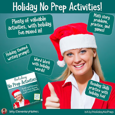 https://www.teacherspayteachers.com/Product/Holiday-Themed-No-Prep-Activities-for-Literacy-and-Math-1001419?utm_source=blog%20post&utm_campaign=Holiday%20No%20Prep