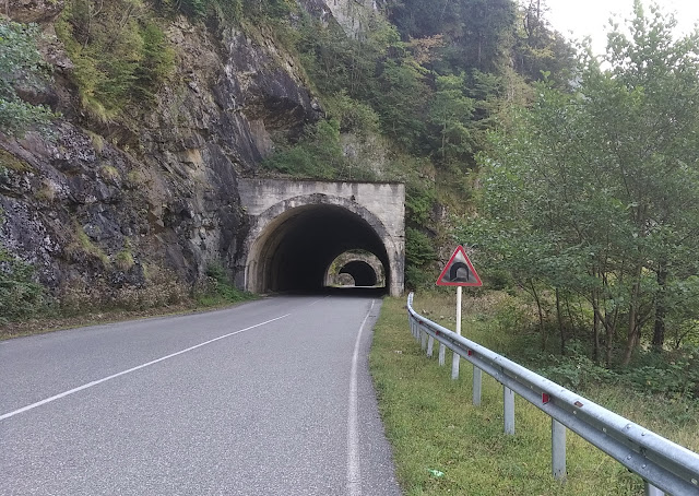 тоннели возле Ингурского водохранилища