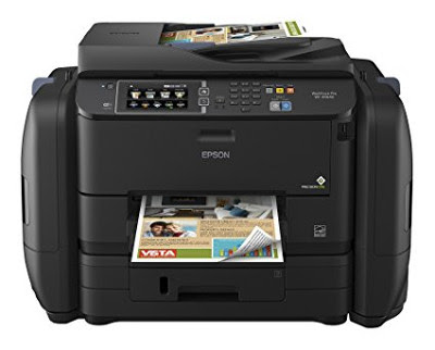 Previously I had a comparable printer from roughly other manufacturer Epson WorkForce Pro WF-R4640 Driver Download