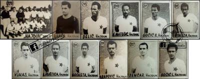 fudbal sličice 1950-ih