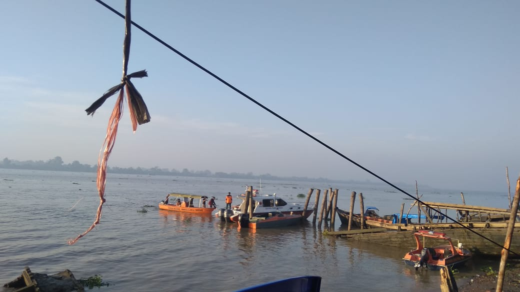 Korban Tenggelam di Sungai Indragiri Tembilahan Sudah Ditemukan