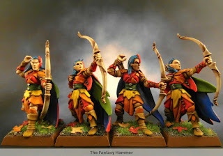 Wood Elves Glade Guard unit part.1