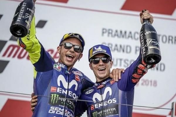 MotoGP Argentina, Valentino Rossi Akhirnya Naik Podium Lagi