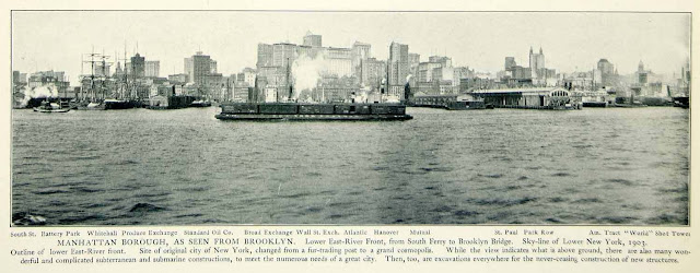 1903. Manhattan, New York City - Historical View - Print