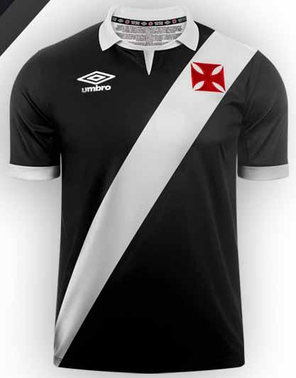 986be61e86 FlagWigs  Umbro Vasco da Gama 2014-2015 Home and Away Jersey Shirt ...