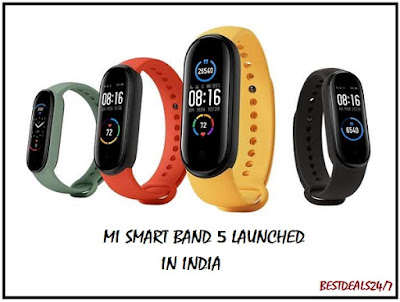 Mi Smart Band 5 Launched in India