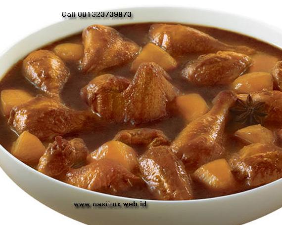 Resep semur ayam kentang nasi box walini ciwidey