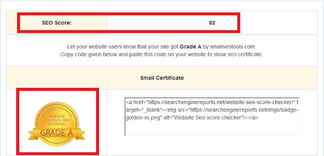 Cara Cek SEO Score Blog atau Website 2