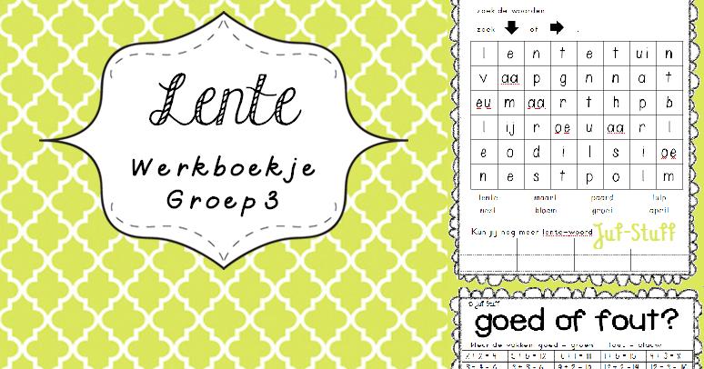 Kleurplaten Pasen Groep 5.Juf Stuff Lente Werkboekje Groep 3