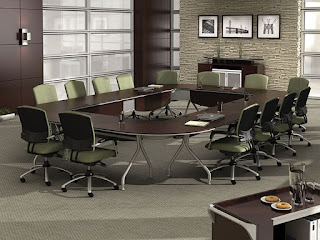 Collaborative Boardroom Interior