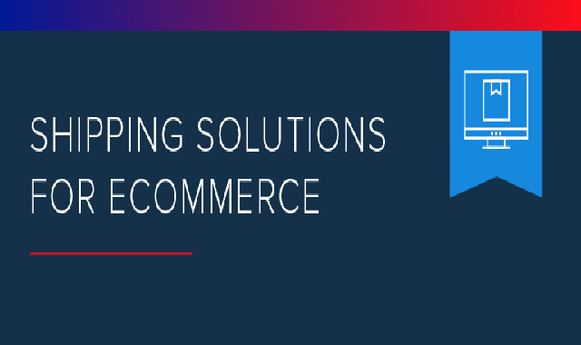 Shipping Solutions for eCommerce #infographic
