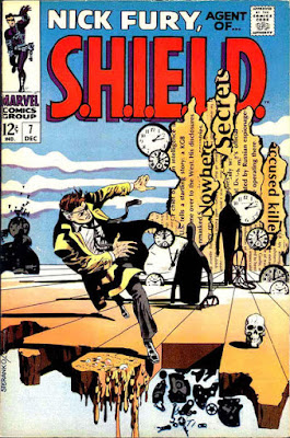 Agent of SHIELD #7. nick fury, jim steranko cover