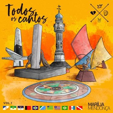 CD Todos Os Cantos Vol. 1 (Ao Vivo) – Marília Mendonça (2019) download