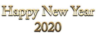 Happy New Year 2020 PNG Transparent Image