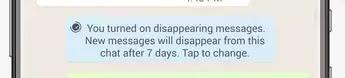خاصية حذف رسائل الواتس لب