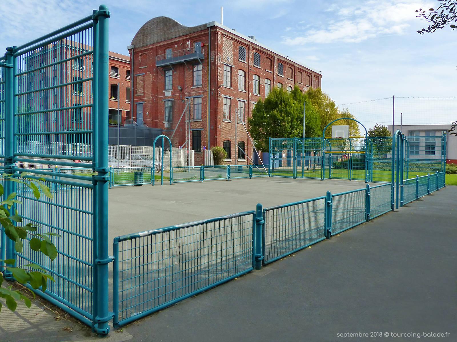 Terrain de Basket, MCJ La Fabrique, Tourcoing 2018