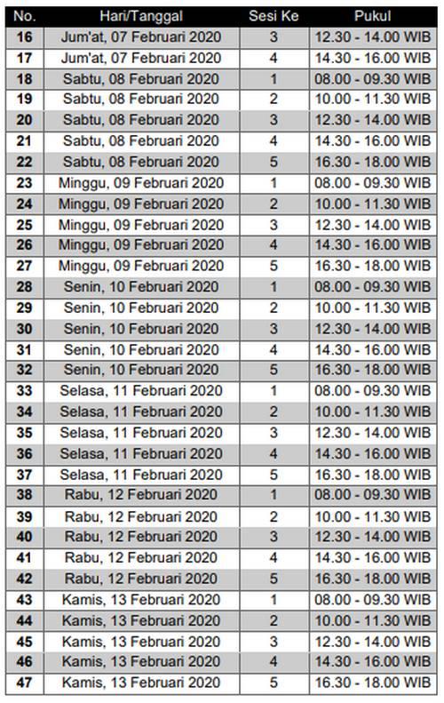 Jadwal SKD CPNS Kab Garut Tahun 2020