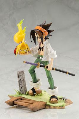 Kotobukiya presenta las imágenes y detalles de su nueva figura dedicada al manga / anime Shaman King para la línea ARTFX J. Esta figura centrada en el personaje de Yoh Asakura realizada en en escala 1/8 alcanza una altura total de unos 18 cm .