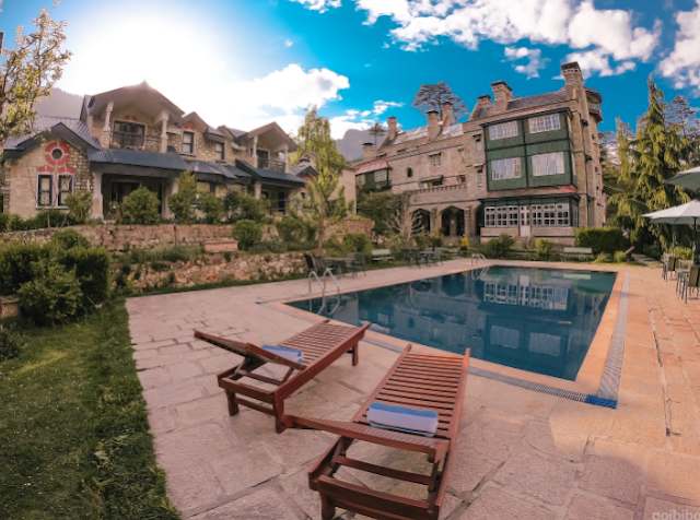 Resorts in Manali with swimming pool