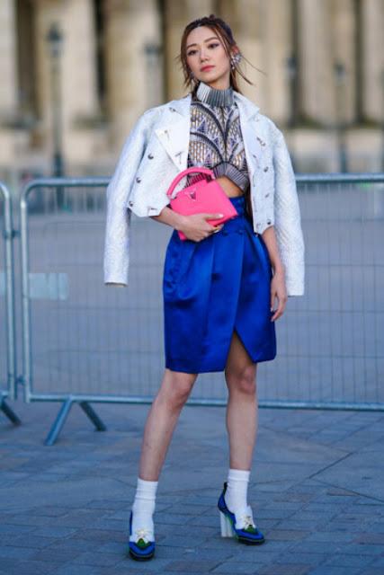 Модные образы яркой одежды 3