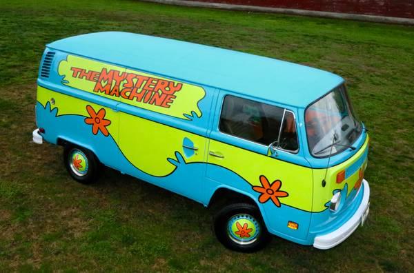 VW Bus Scooby Doo Van   vw bus wagon