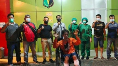 DOR, Begal Sadis di Lampu Merah Medan Ditembak Polisi