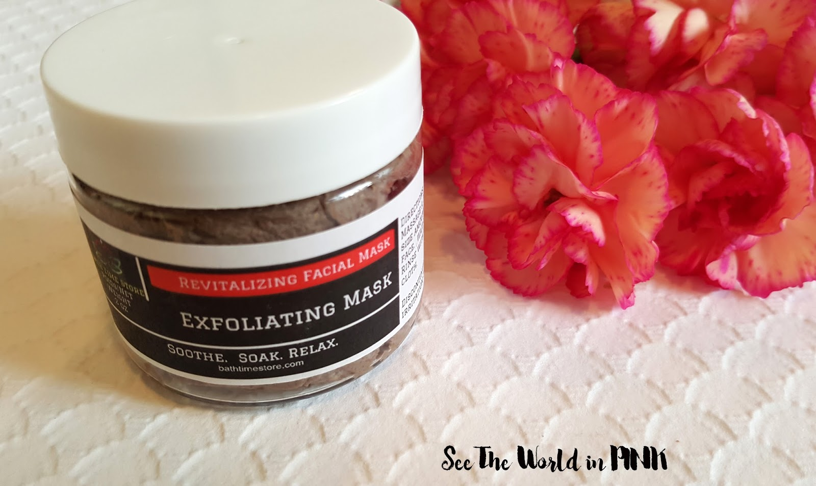 "Bath Time Store ""Exfoliating Clay Mask"""