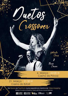 Duetos Crossover Tour 2020 - Primeira data