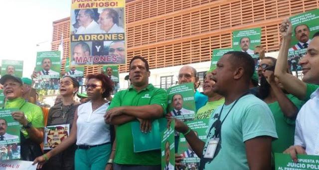 Marcha Verde solicita al Congreso juicio político contra Danilo Medina