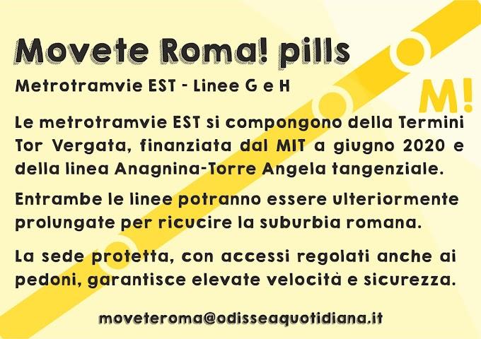 Movète Roma Pillola, numero 17: Le metrotramvie est