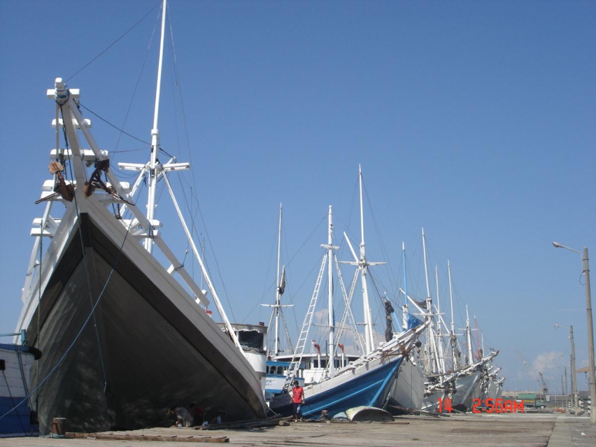 pemdangana pelabuhan Pelabuhan Paotere