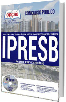 Apostila  IPRESB Barueri 2017 Agente Previdenciário