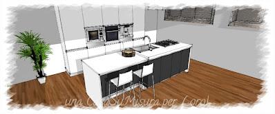 come si progetta la cucina