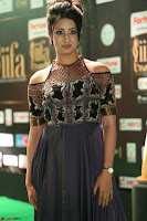 Sanjjanaa Galrani aka Archana Galrani in Maroon Gown beautiful Pics at IIFA Utsavam Awards 2017 39.JPG