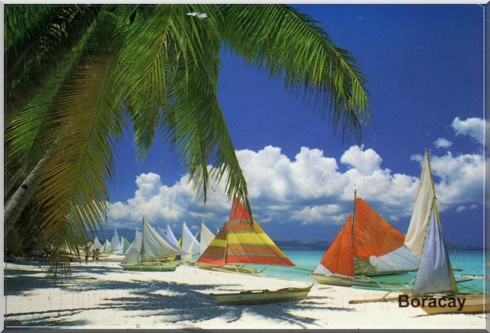 Heidi Klum And Martin Kristen Beach Boracay Island, stock ...