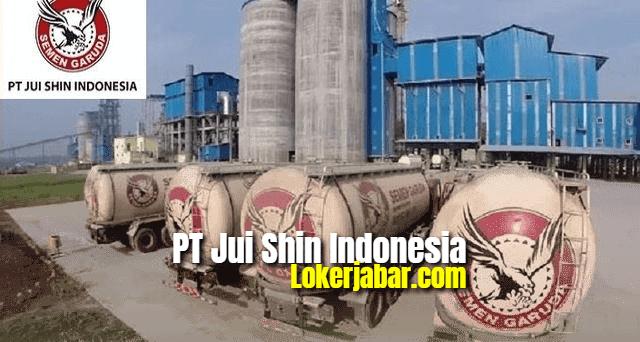 Lowongan Kerja PT Jui Shin Indonesia (Semen Garuda) 2021