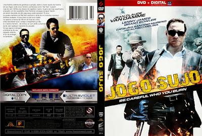Filme Jogo Sujo 2014 (Swelter) DVD Capa