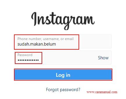 Cara Menghapus Akun Instagram Permanen di Laptop 1