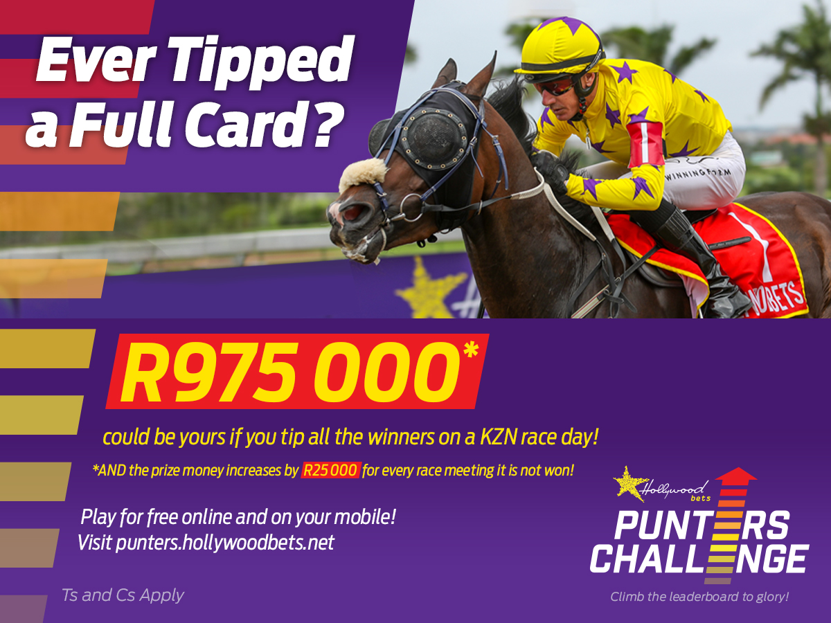 Hollywoodbets Punters' Challenge R975 000