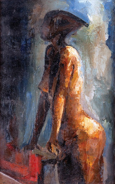 "by George William Kyeyune - ""Nude"", 2003"