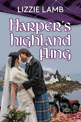 Harper's Highland Fling by Lizzie Lamb book cover