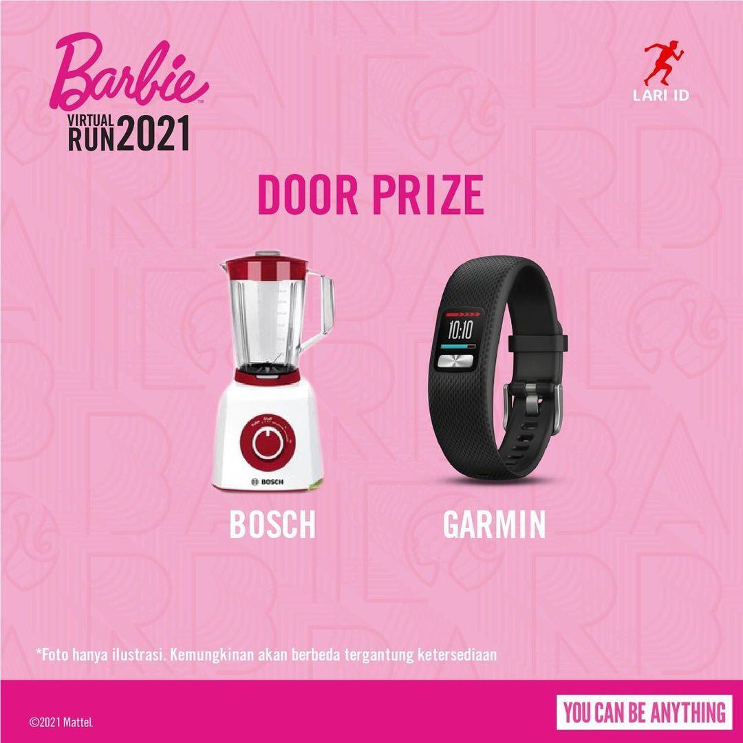 Doorprize 🎁 Barbie Virtual Run • 2021