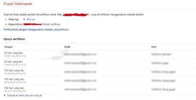 Mendapatkan Kembali Cname Record Yang Hilang Untuk Custom Domain Blogger