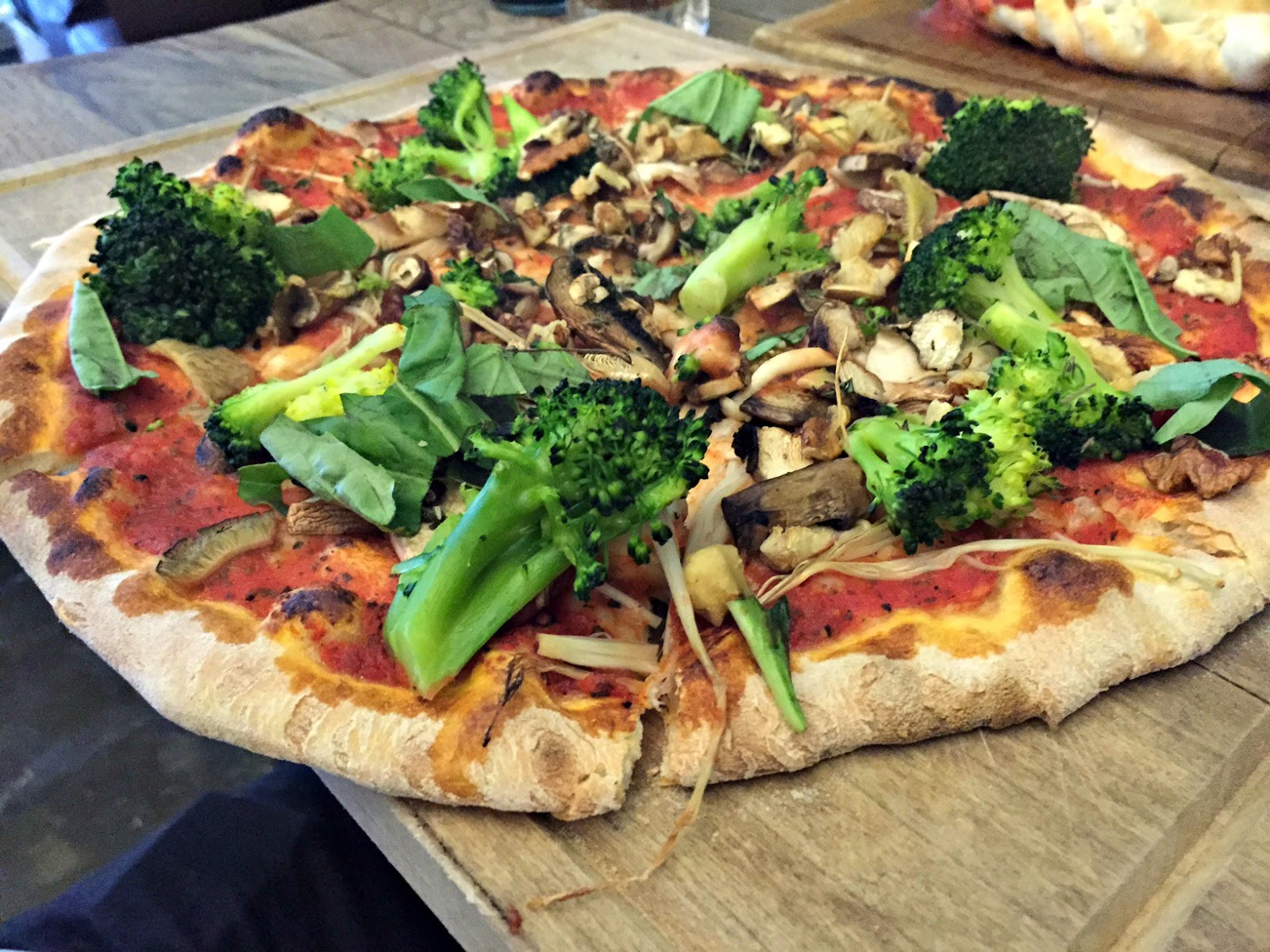 The Herb Garden Newcastle Vegan Pizza