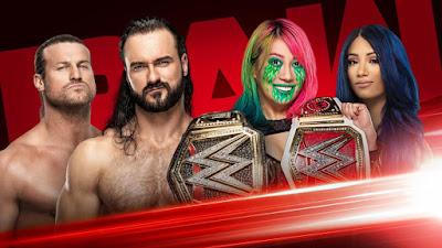 WWE Extreme Rules Title Raw Women Men Ziggler Drew McIntrye Sasha Banks