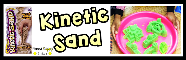 Kinetic Sand, Planet Happy Smiles, Hands-on Learning