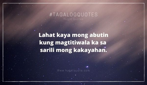 Top 4 Tagalog Motivational Quotes In 2020